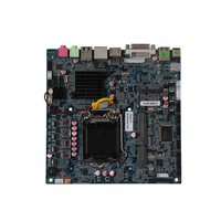 Mini ITX материнская плата LGA1155 Процессор SandyBridge Ivybridge i3/i5/i7 Процессор 4 г/8 г Оперативная память 2xmini pcie 8xusb2. 0