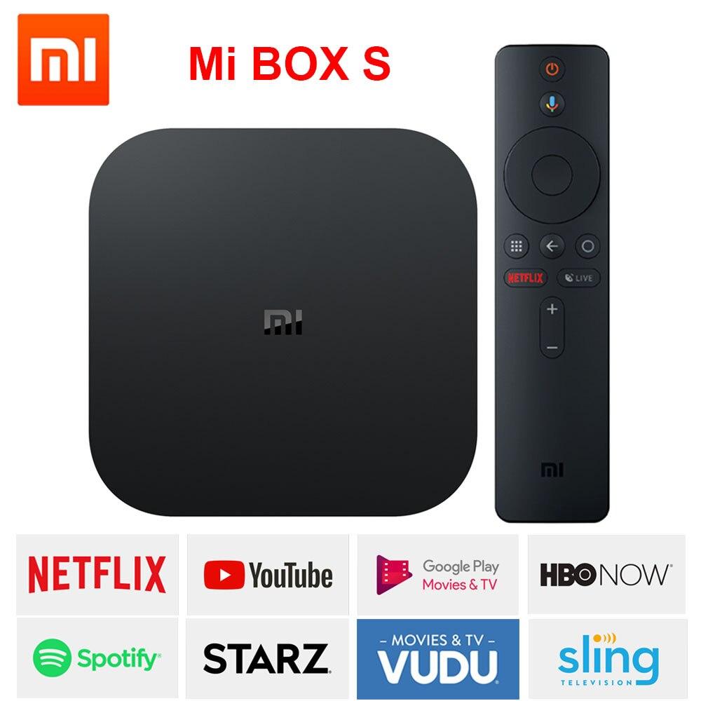 Xiaomi Mi Box S TV Box EU Version Android 8.1 …