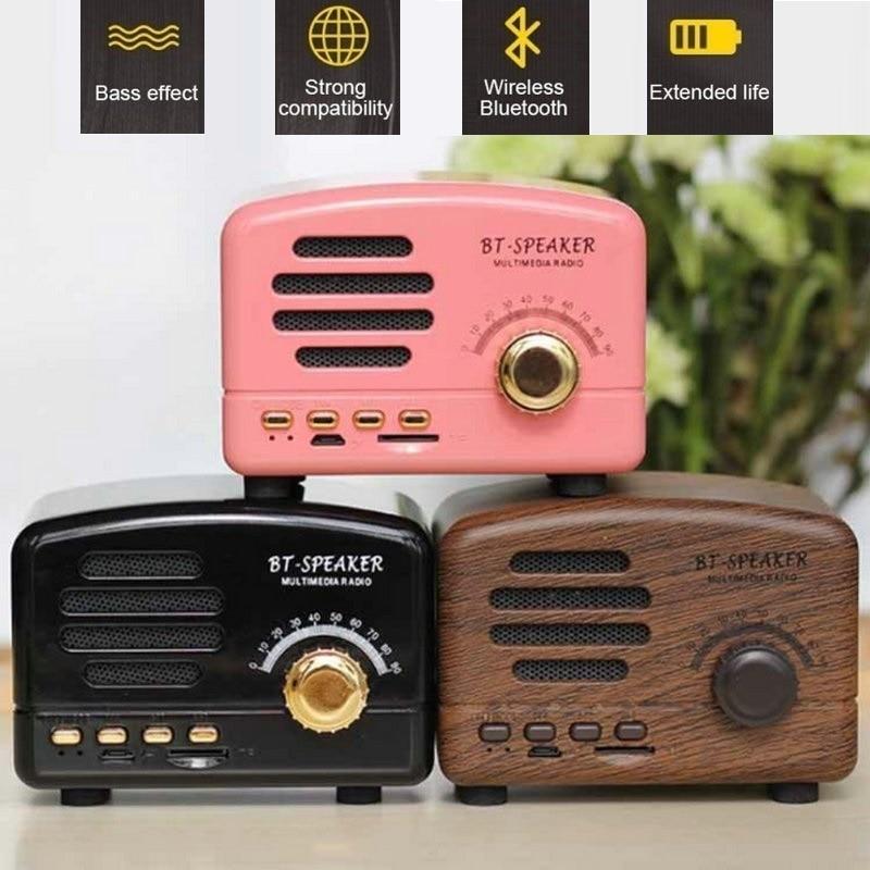 JOYTOP vezeték nélküli legjobb Bluetooth hangszóró Vintage - Hordozható audió és videó