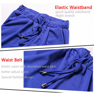 Image 5 - 2020 Autumn European Style Casual Loose Stretch Women Palazzo Harem Trousers Female Slack Sweatpants Plus Size M 3XL 4XL 5XL 6XL