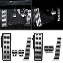 Car Gas Brake Rest Pedal Car Pedals for Volkswagen Vw Golf 5 6 MK5 MK6 Jetta MK5 Scirocco CC TIGUAN Toureg for Skoda Octavia A5