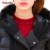 Invierno Verde Del Ejército Chaqueta de Las Mujeres Con Capucha Engrosamiento Parkas Largo Pato Blanco por la Chaqueta Mujeres Ultraligero Nieve Outwear Abrigo