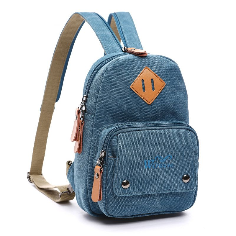 Small Backpacks. Small backpacks can come in handy throughout the day. Use a backpack in place of a purse, as luggage or even to tote items back and forth from the office or school.