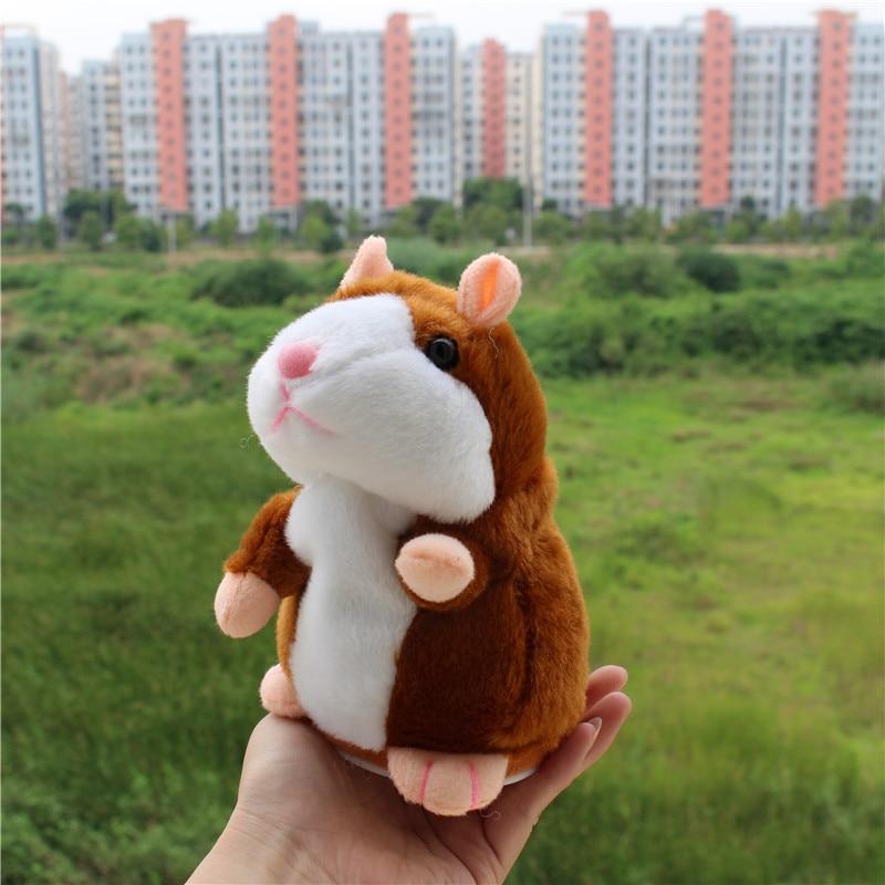 Record Talking Hamster Mouse Pet Pluș jucărie Hot drăguț - Jucării moi și plușate