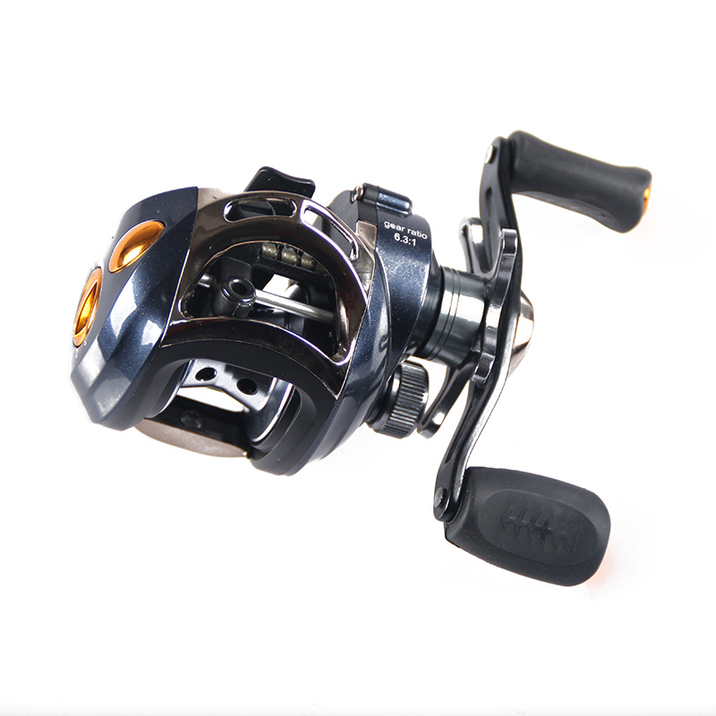 Fddl right hand fishing reel 12 1bb ball bearing 6 3 1 for Fish drops reels