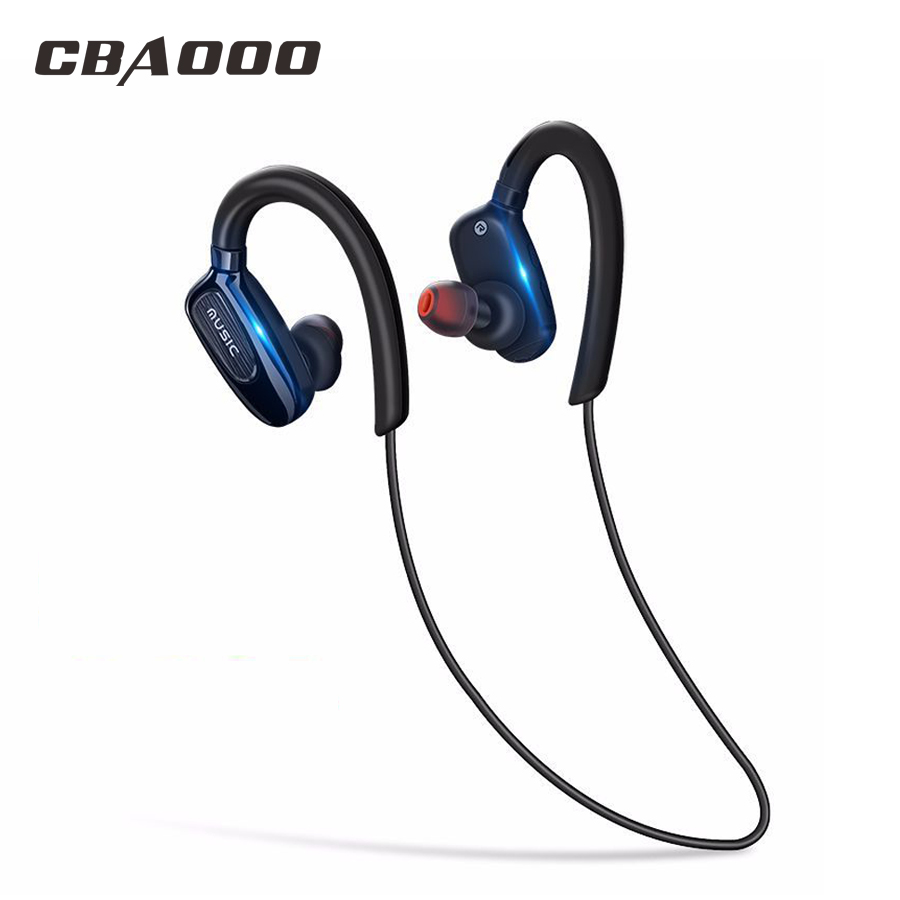 CBAOOO S5 Wireless Bluetooth Earphone Sports Headset Waterproof Noise reduction Stereo with Mic for Xiaomi Android iPhone headset 4 1 wireless bluetooth headphone noise cancelling sport stereo running earphone fone de ouvido for xiaomi iphone huawei
