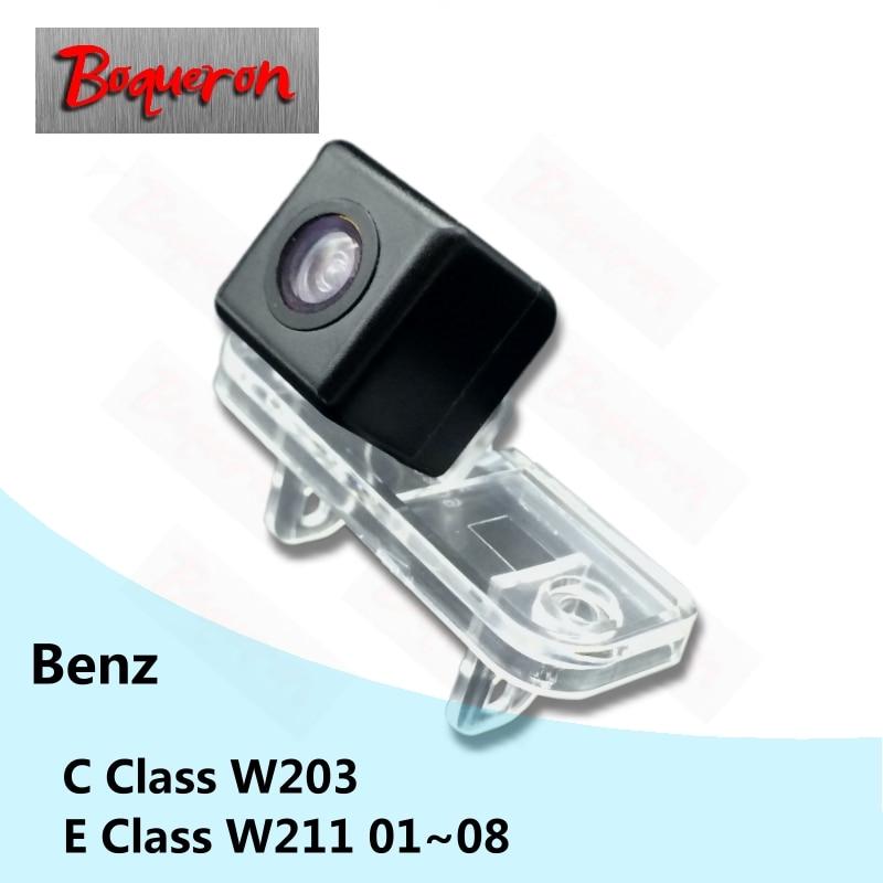 BOQUERON for Mercedes Benz C Class W203 E Class W211 01~08 HD CCD Waterproof Car Camera reversing backup rear view camera