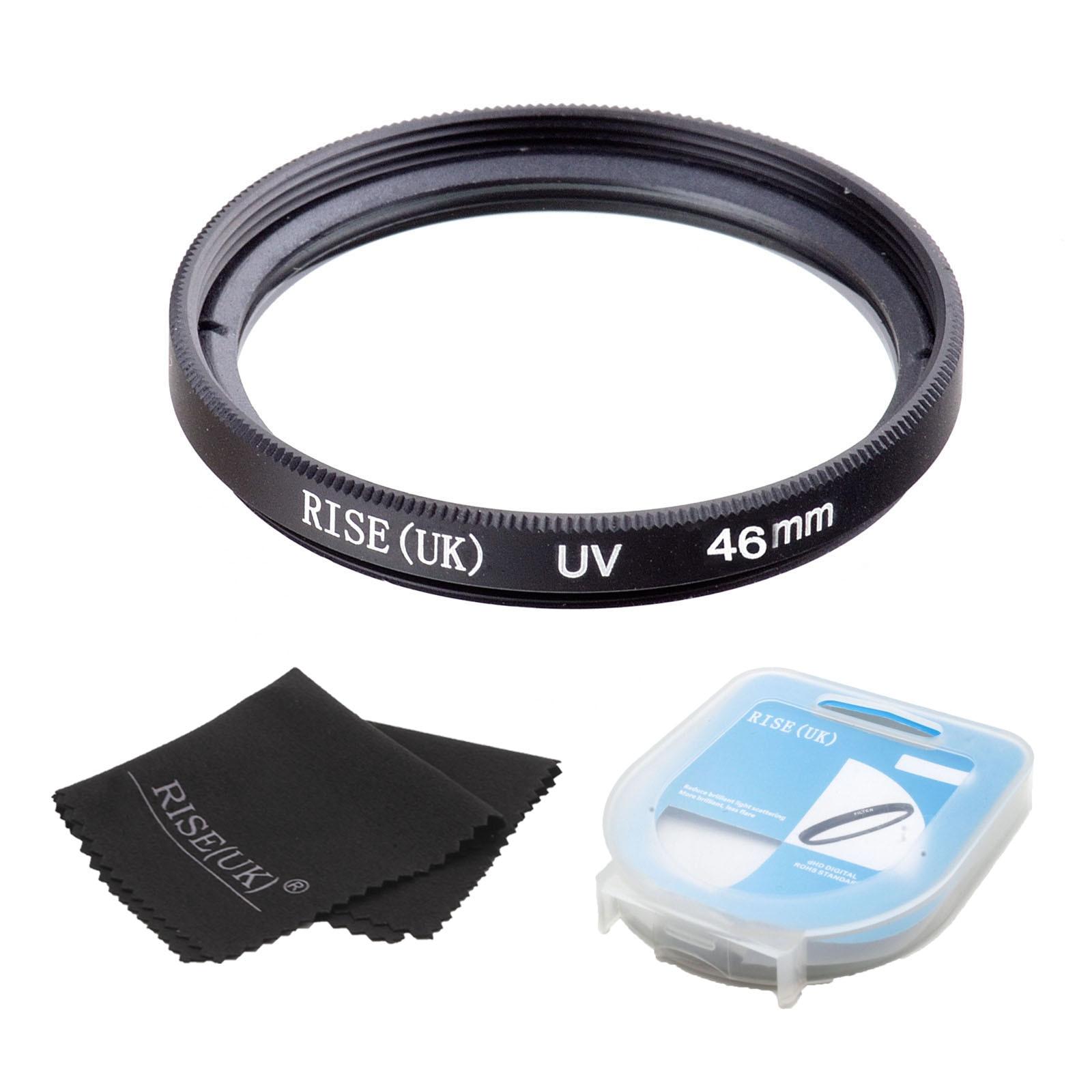 ▽Envío libre 46mm RISE (UK) filtro UV lente 46mm lente para DSLR ...