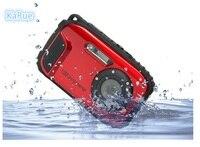 Karue 2 7 Inch LCD Cameras 16MP Digital Camera Underwater 10m Waterproof Camera 8x Zoom Yellow