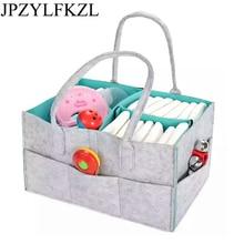JPZYLFKZL Fashion Foldable Baby Diaper Caddy Organiser Gift Kid Toys Storage Bag box for Car Travel Changing Table Organizere