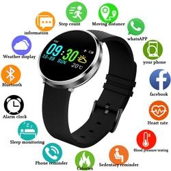 COXRY Smart Watch do fitnessu zegarki sportowe dla mężczyzn krokomierz do biegania na rowerze zegarek do pływania tętna cyfrowe do monitorowania ciśnienia krwi w Inteligentne zegarki od Elektronika użytkowa na