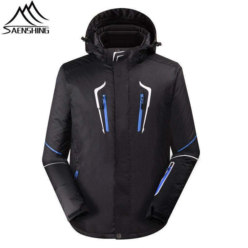 New Ski Jacket Men Waterproof Windproof Snowboard Jacket Winter Outdoor Sports Jackets Coats Cotton Filler Warm Snow Jackets Boy new 2017 men winter black jacket parka warm coat with hood mens cotton padded jackets coats jaqueta masculina plus size nswt015