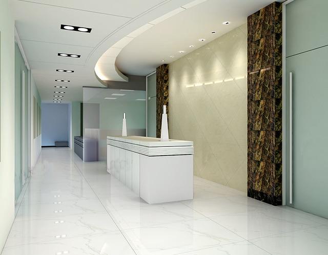 Pavimenti in cotto piastrelle di ceramica salotto bianco