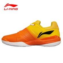 Стабильности амортизацию подкладка li-ning теннисные туфли поддержки профессиональные спортивная кроссовки обувь