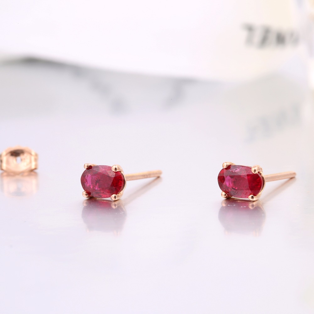 earrings alloy stud button buy roots product trendy vanity tops white