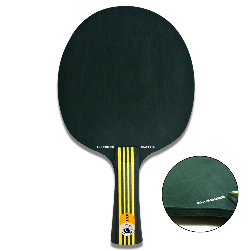New arrical xvt allround classic 7 ply black wood table for Table tennis 99