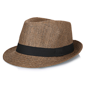 Big Bone Man Large Size Fedora Hats Male Summer Outdoors Panama Cap Men Plus Size Straw Hat 56-58cm 58-60cm