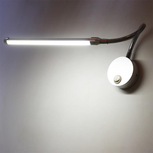 moderne minimalistische warm led bedlampje wandlamp slaapkamer gangen leeslamp verstelbare schakelaar