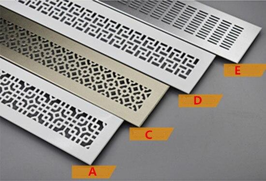 Merveilleux Ventilatie Roosters Aluminum Air Vent Ventilator Grille For Closet Shoe Cabinet  Vent Grill