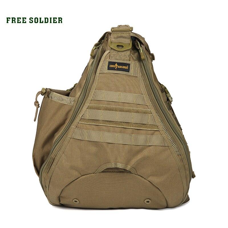 Prix pour Free soldier camping et randonnée hommes et femmes sacs de haute qualité 1000d nylon unique épaule sacs
