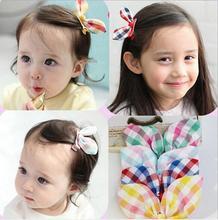 2015 Детские девушки стилизация инструмент ткань лук шпильки головные уборы аксессуары для волос для женщин дети делают они милый прекрасный