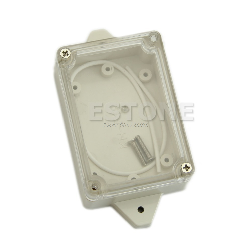 Plastic Waterproof Clear Cover Electronic Project Box Enclosure Case 85*58*33MM Dropship