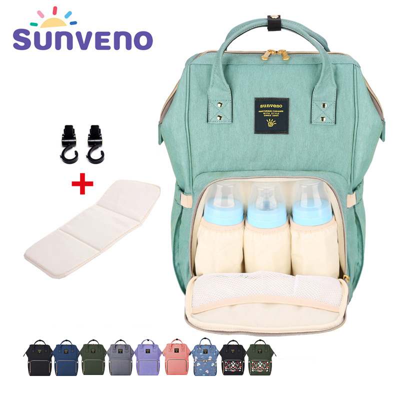 69aaaaf7d3477 New Upgraded Sunveno Fashion Mummy Maternity Nappy Bag Large Capacity Baby  Bag Travel Backpack Designer Nursing Bag Baby Care