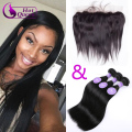 Malaysian Straight Hair With Closure Malaysian Virgin Hair With Frontal Closure Rosa Hair Products With Closure 4Pieces