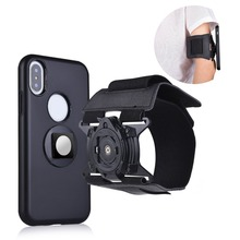 Universal magnetic mobile phone holder Armband Sport Running Arm Band For iPhone X 5 6 7 8 PLUS for Samsung S7 S8 s9 for xiaomi