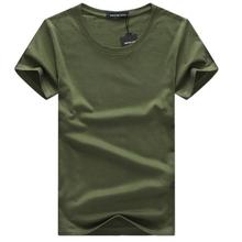 SWENEARO 2018 Men T shirts Classical Short Sleeve O neck Solid Color Loose Basic Tshirt Casual