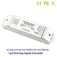 DC12V-24V DALI to 0-10v/PWM5V/PWM10V 4 channels signal converter DALI led driver controller for led lamp light 4 channels 0 1 10v to pwm 5v pwm 10v 2 dip switches out led dimming signal converter signal driver controller for led lamp