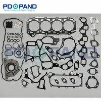 ZD30 ZD30DDTI Engine Overhaul Gasket Set kit for Nissan SAFARI TERRANO DOHC Y61 R50/Renault Mascott /Opel Movano 3.0L|Engine Rebuilding Kits|   -