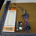 3.3 В / 5 В MB102 макет блока питания + MB-102 830 точек прототип хлеб доска для arduino комплекте 65 перемычки оптовая продажа 30292
