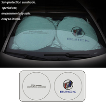 Automobile for Buick Car Protector Visor Sun Shade Fornt Window Rear Windshield Cover Shields Summer Windscreen