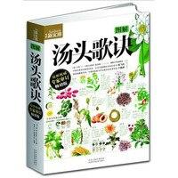 Çin günlük pratik tıp kitap: Tangtou Gejue, resimlerle açıklanmıştır Çin şifa Tekerlemeler kitap tarifler