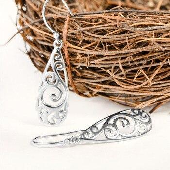 Long Drop 925 Sterling Silver Earrings4