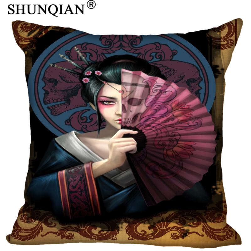 Custom anne stokes Pillowcase Wedding Decorative Pillow Case Customize Gift For Pillow Cover 20x20cm,35x35cm(one side)
