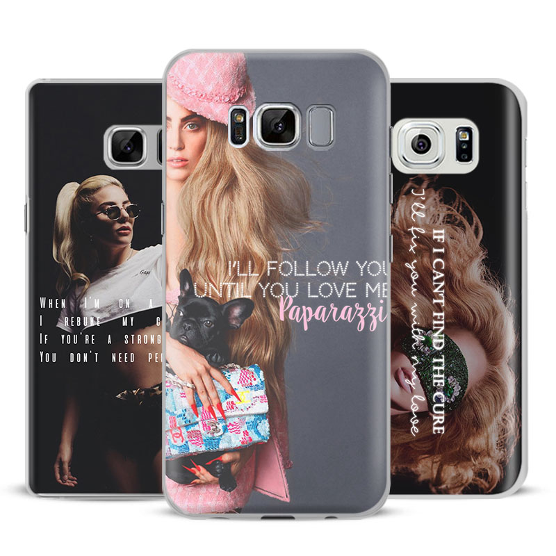 Lady JOANNE gaga monster lyric quotes Phone Case For Samsung Galaxy S5 S6 S7 Edge S8 S9 Plus Note 8 3 4 5 A5 A7 J5 2016 J7 2017