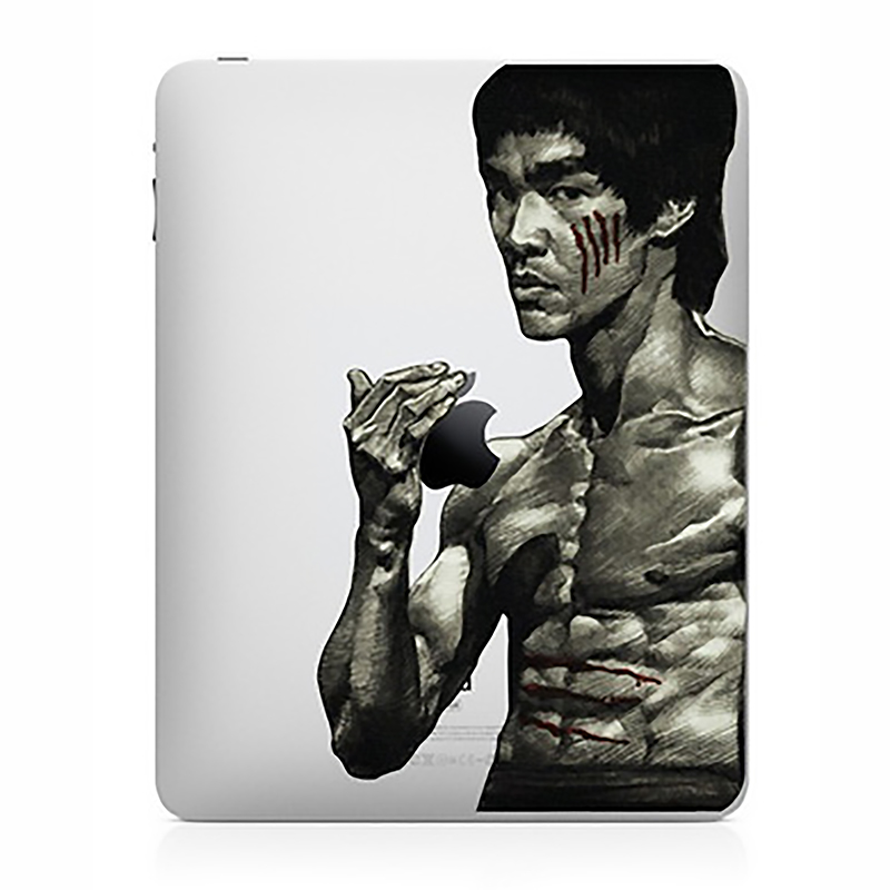 Tablet Decals Funny IPad Stickers Bruce Lee  For IPad1/2/3/4 Air/Pro9.7inch IPad Mini1/2/3/4