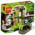 86 шт. 9753 Ниндзя Храме Venomari Зейн ZX змея запуск Модели Соберите Строительные Игрушки Подарки, Совместимые С Lego