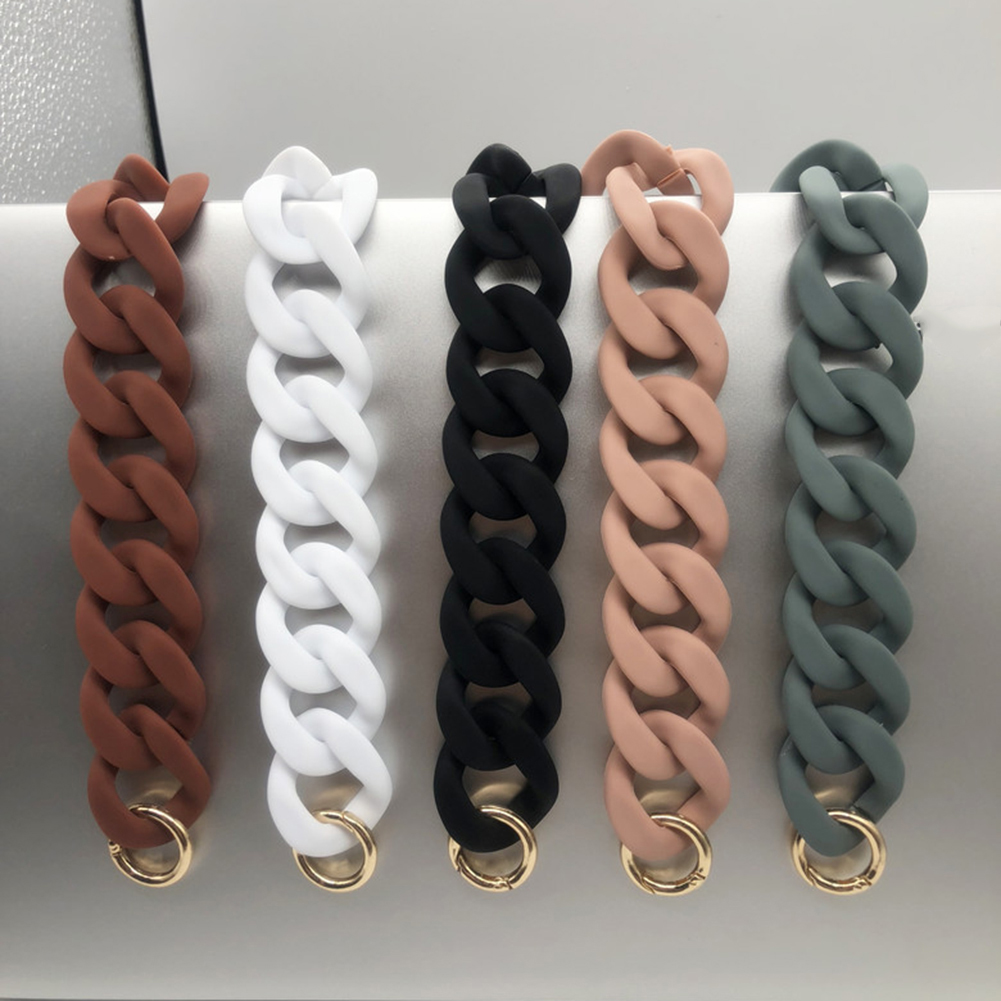 2019 Detachable Replacement Bag Strap Fish Bone Acrylic Resin Handbag Shoulder Strap Chain Straps For Bags Accessories For Bags