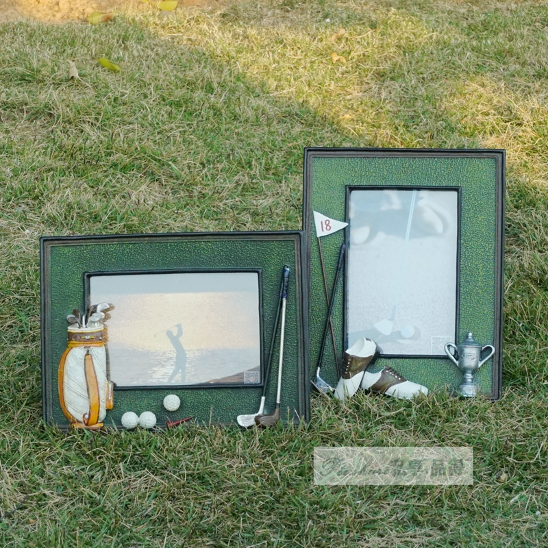 Image 5 - Golf ball bag rod 3D resin memorial crafts personalized soft swing sets photo frame birthday gift prize for game club gift-in Golf Training Aids from Sports & Entertainment