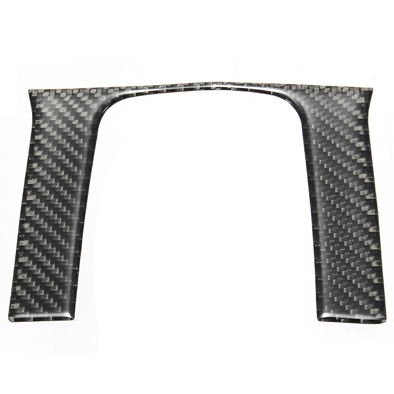 AUTO -Carbon Fiber Style Shift Inner Gear Cover Panel Trim For Honda Civic 2016-2017