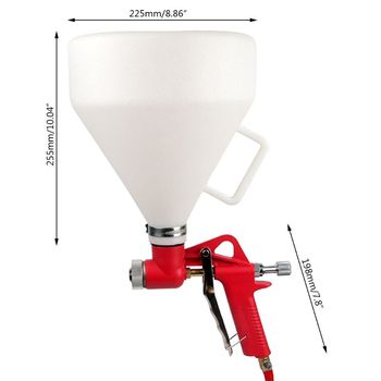 Air Hopper Spray Gun Paint Texture Tool Drywall Wall Painting Sprayer with 3 Nozzle for Garden Agricultural Spraying Tools qiang