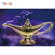 Yeele Aladdins Photographic Backdrops Incense Burner Gold Wine Cup Baby Party Kids Photography Backgrounds lamp For Photo Studio