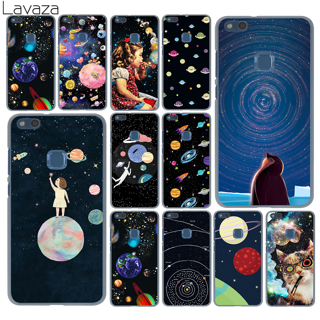 Well-Educated Lavaza Stars Moon Airship Astronaut Cat Case For Huawei P20 P9 P10 Plus P8 Mate 20 Pro 10 Lite Mini 2016 2017 P Smart 2019 Comfortable And Easy To Wear Cellphones & Telecommunications