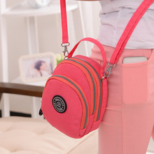New 2015 Women's handbag women waterproof nylon bag vintage bag shoulder bags messenger bag female small tote free shipping стоимость