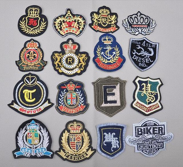 Sport Army Embroidered Patches Sticker On Clothes Badge Logo Garment Embroidery  Patches Diy Accessories AE804
