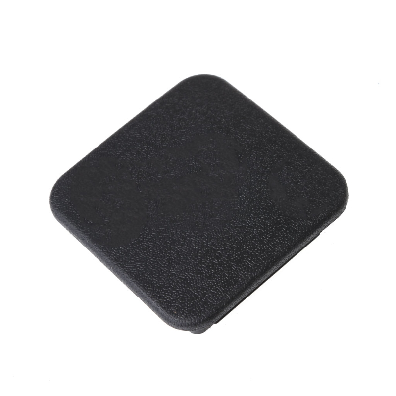 Universal Class III IV 2inch Black Trailer Hitch Cover Plug Receiver Cover Cap Dust Protecter