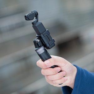 Image 5 - PGYTECH dji Osmo アクションカメラユニバーサルマウントに 1/4 移動プロ 4567 ビデオコンバータヘッド OSMO ポケット selfie スティックコネクタ